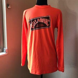 Billabong- orange, long sleeve UVA/UVB shirt (12)